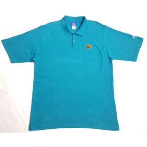 REEBOK Polo Shirt NFL Jacksonville Jaguars 1134E2